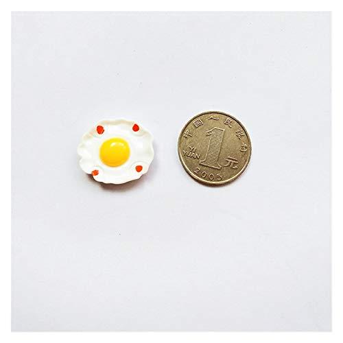 JSJJARF Imán de Nevera Imanes de refrigerador Resina de Dibujos Animados Lindo Nube de Nevera imán Etiqueta Mensaje Regalos para niños Inicio Decoración navideña (Color : Egg)