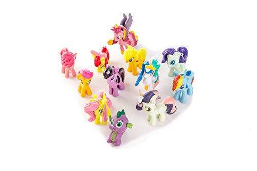 my little pony cake toppers mini figures Characters set of 12 Action Figure cake decoration collection playset