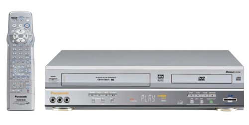 Best Deals! Panasonic PV-D4763S Progressive-Scan DVD-VCR Combo , Silver