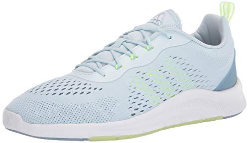 adidas Women's X Cross Trainer, Sky Tint/Green/Blue, 7.5