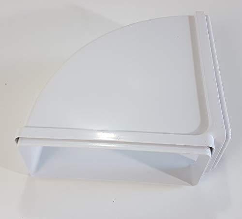 VentilationNord Flachkanal 220x90mm 90° Kanalbogen waagerecht