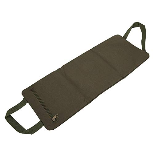 cersalt No Fill Canvas Training Fitness Sandbag, Leg Sandbag, Thin Arm Yoga Bag, Fitness Leg for Yoga(ArmyGreen)