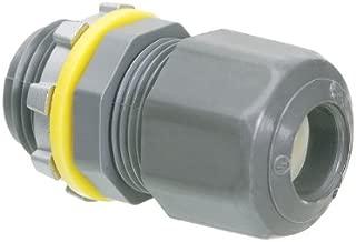 Arlington LPCG50-1 Low-Profile Strain Relief Cord Connector, 1/2 Inch
