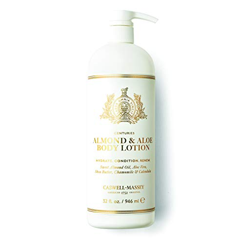 Caswell-Massey Almond and Aloe Titanic Body Lotion – Signature Fragrance – Made in the USA – 32 Ounces