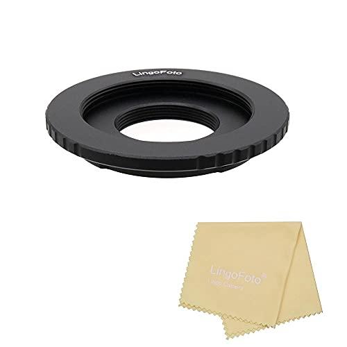 Lens Adapter Ring M42/C Mount Movie Lens to for Sony Nex Mirrorless Cameras Adapter Dual Purpose(M42/C-Nex)