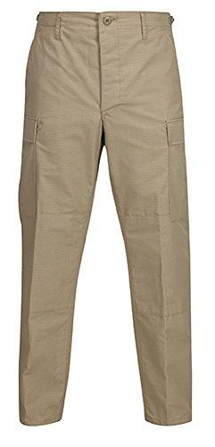 Propper Men's Bdu Trouser – Button Fly - 65/35 Ripstop, Khaki, Medium Regular