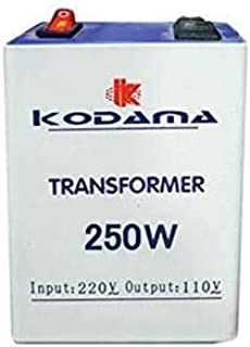 Latest KODAMA KT250W Transformer 220V to 110V 250W Power Converter 220V to 110V 250 Watt