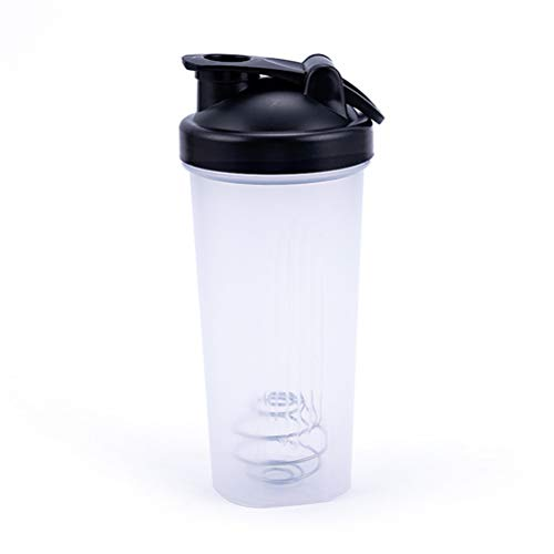 Guillala Protein Shaker Bottle 600ML Durable Strong With Twist And Lock Protein Box Storage for Protein Or Supplements