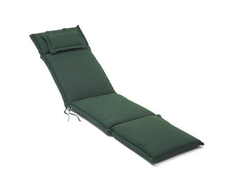 Auflage Deckchair, 184 x 46 cm, grün