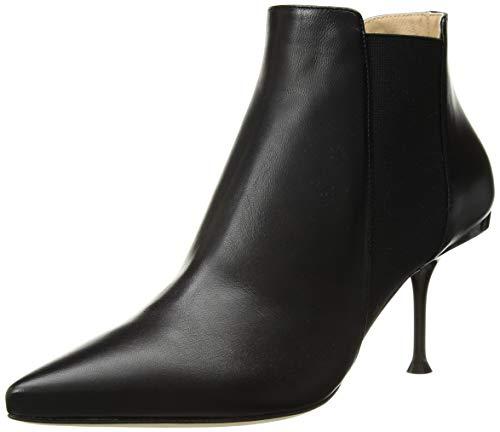 Sergio Rossi Women's SR Milano Ankle Boot black 36 Medium EU (36, 6 US)