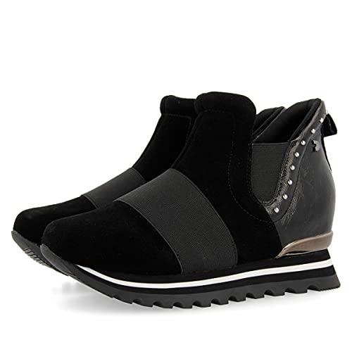 Gioseppo 56906, Zapatillas Altas Mujer, Negro (Negro Negro), 41 EU
