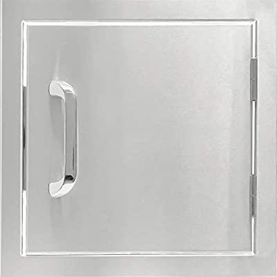 BBQGUYS Signature Series 12-Inch Stainless Steel Single Access Door