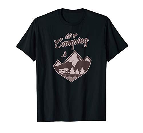 Let's go Camping Caravan Wohnmobil Camper T-Shirt