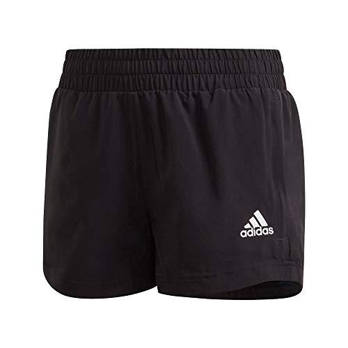 adidas Kinder Shorts A.R. Wv Shorts, Black/White, 164, GE0506