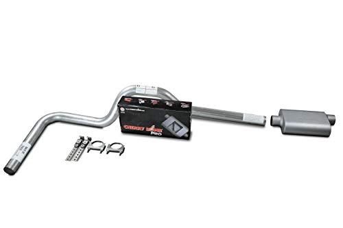 XsvFLO Exhaust Kits - Shopline Single exhaust system 3in AL pipe Cherry Bomb Pro