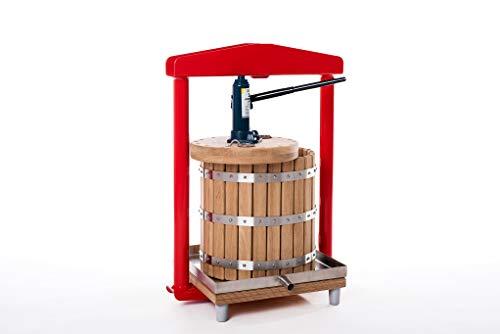 Prensa hidráulica GP-26 - exprimidor de las manzanas, uvas, bayas, frutas, vino,...