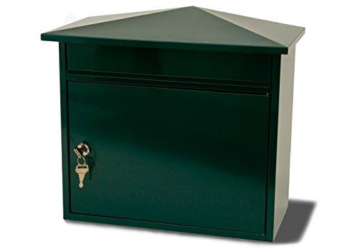 G2Trading Company 024 Briefkasten aus Stahl - grün