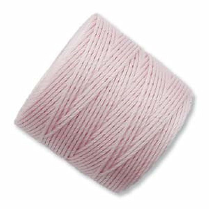 Superlon #18 Twisted Nylon Bead Cord 77 Yard Spool Bobbin BLUSH