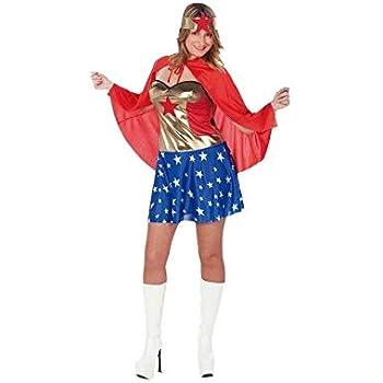 DISBACANAL Disfraz Mujer Maravilla - -, M: Amazon.es: Juguetes y ...