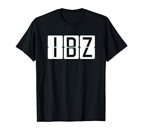 IBZ Aeropuerto de Ibiza Código Camiseta