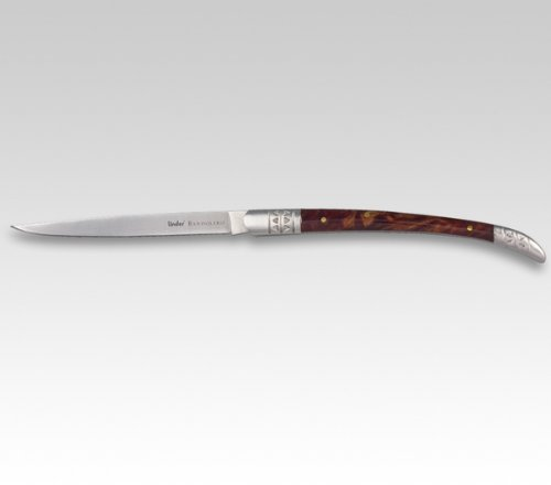 BANDOLERO-Messer, rostfrei, Celluloid, rostfr. Backen,13 cm, Spanische Form
