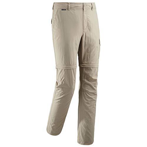Lafuma – Access Zip-Off M – Pantalon Convertible en Short – Matière Légère et Anti-Moustique- Randonnée, Trekking - Beige