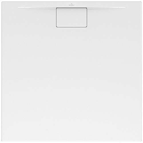 Villeroy & Boch VB Architectura Duschwanne (8080ARA115) MetalRim 800x800x15mm weiß alpin