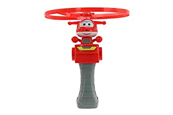 Super Wings - High Flying Jett   Toy Figure & Launcher   Safe for Outdoor Summer Play for Kids 3 4 5   Best Plane Flying Birthday Gifts for Preschool Boys and Girls   Pretend Play