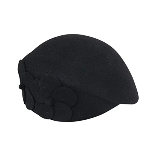 Fantastic Deal! NotingBuss-Home Lady French Beret Floral Dress Beanie Winter Hat Painter Hat Cap Vin...