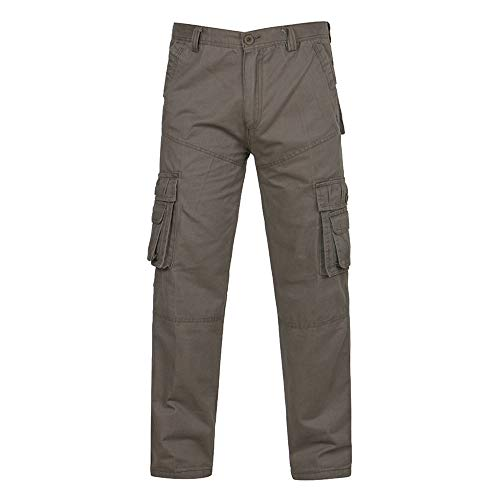 Geili Cargohose Herren Freizeithose Übergröße Viele Taschen Kampfhose Arbeitshose Männer Casual Tactical Military Armee Combat Lang Hosen Herbst Winter Regular Fit Cargo Pants