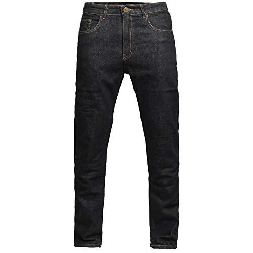 GREAT BIKERS GEAR - Herren Engineered Protective Jeans Mit Aramid gefütterte Motorrad-Bikerhose Verstärktes Schutzfutter, Knie- und Hüftschutz
