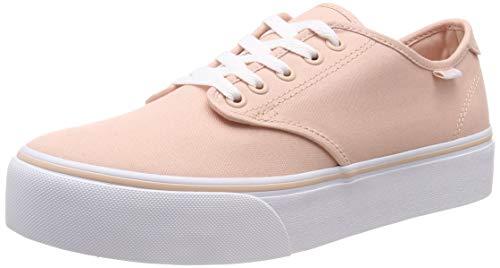 Vans Damen Camden Platform Sneaker, Pink ((Canvas) Spanish Villa Vv8), 35 EU