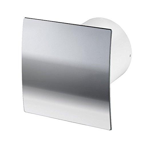 Badlüfter Wand-Ventilator Ø 100 Kugellager Silent Standard Escudo - Line System+ (chrom)