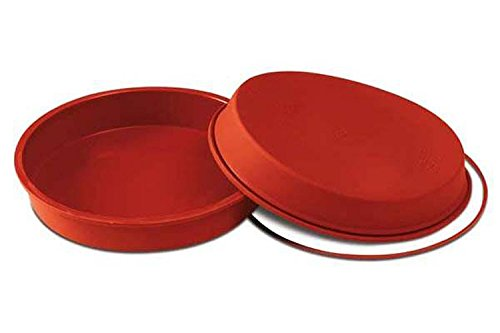 Silikomart 20.226.00.0060 SFT226 Moule Forme Ronde Silicone Terre Cuite
