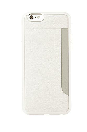Ozaki OC559WH 0.3 Pocket hochwertige dünne Schutzhülle mit Kartenfach inkl. Displayschutzfolie für Apple iPhone 6 / 6S