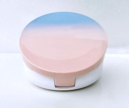 QWXINXING Mini Mirrors 1Pcs 15Ml Vide Case DIY Puff Box BB Crème Conteneur Pansement avec éponge en Poudre et Miroir
