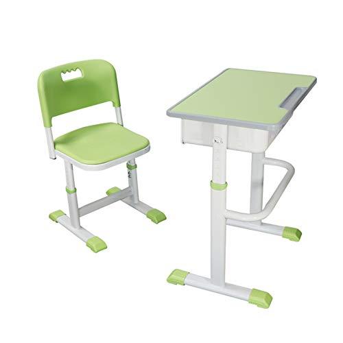 HP-YSH Kinderschreibtisch Schreibtisch Kindertisch mit Stuhl höhenverstellbar Kindertisch für Kinder von 3 bis 14 Jahre
