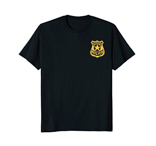Disney Zootopia Zootropolis Police Badge Graphic T-Shirt