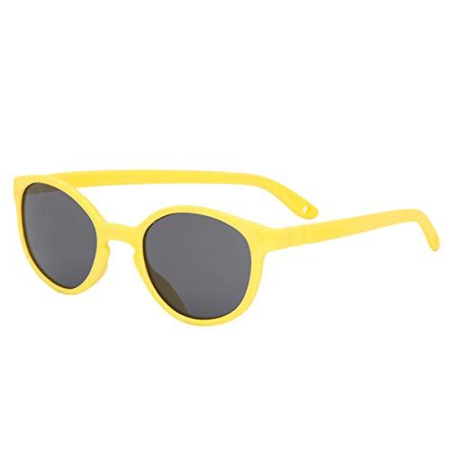 KI et la Wazz - Gafas de sol para bebé y niño, 1 a 4 años amarillo 12-24 meses
