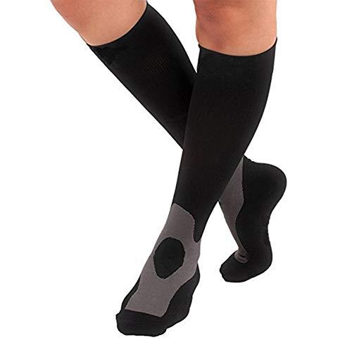 Calcetines de Presión de Compresión de Fitness Medias de