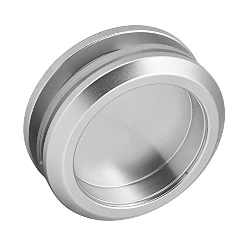 Manija redonda de vidrio de aleación de aluminio, manijas redondas para cajones, perilla para puerta corrediza para baño, herrajes para...