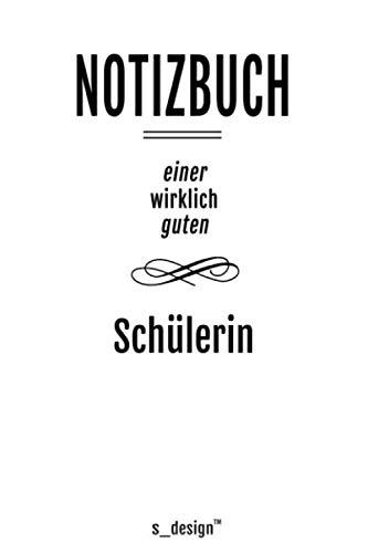Notizbuch für Schüler / Schülerin: Originelle Geschenk-Idee [120 Seiten liniertes blanko Papier] _