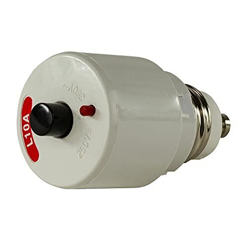 REV 0505130555 bezpiecznik śrubowy, automatyczny 10 A, średniej nośności (L), szary