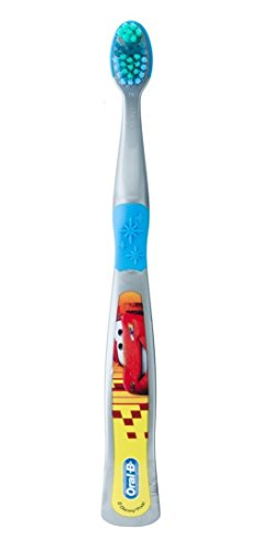 Oral-B Pro-Health Stages Disney Cars Manual Kid's Toothbrush, Pack of 6, (Colors may vary)