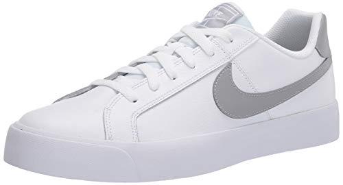 Nike Men's Court Royale AC Sneaker, White/Light Smoke Grey, 11 Regular US