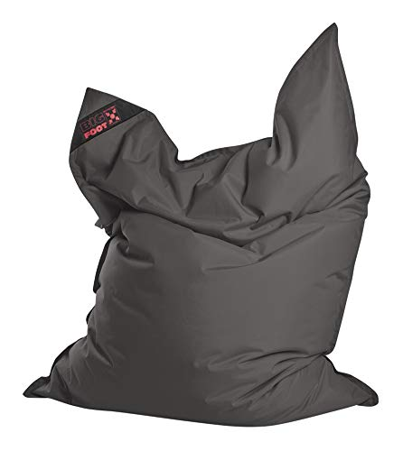 Sitting Point BigFoot SCUBA - bequemer Sitzsack - 130x170x20cm - 380L - Indoor/Outdoor - Made in Germany - Anthrazit