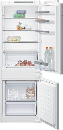 Siemens KI77VVSF0 iQ300 Einbau-Kühlgefrierkombination / F / 260 kWh/Jahr / 232 l / lowFrost / Big Box / LED Beleuchtung