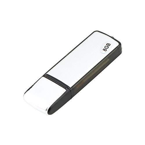 Preisvergleich Produktbild Peanutaoc Neue 2 in 1 8 GB Digital Audio Voice Recorder Stift USB-Flash-Speicher-Laufwerk Festplatte Eingebaute 100mA-3, 7V wiederaufladbare Lithium-Batterie