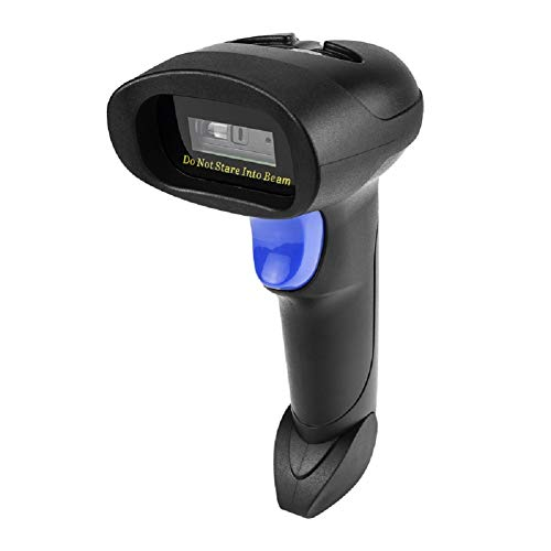 NetumScan Wireless CCD Barcode Scanner USB Automatic Bar Code Reader...