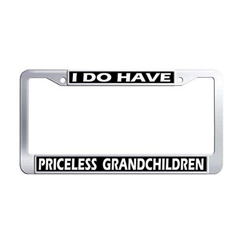 grandchildren license plate frame - 9